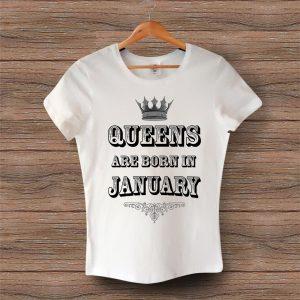 Тениска Queens Are Born In