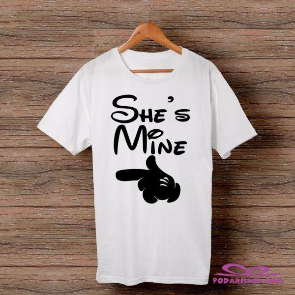 Тениска She's Mine