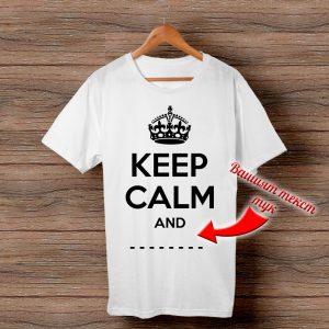 Тениска Keep Calm and