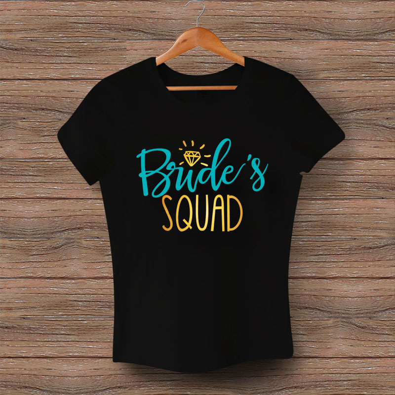 Тениска Bride's Squad