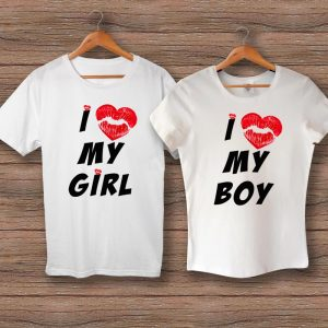 Тениски Love My Girl/Boy