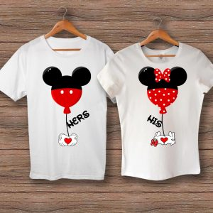 Тениски Hers Mickey - His Minnie