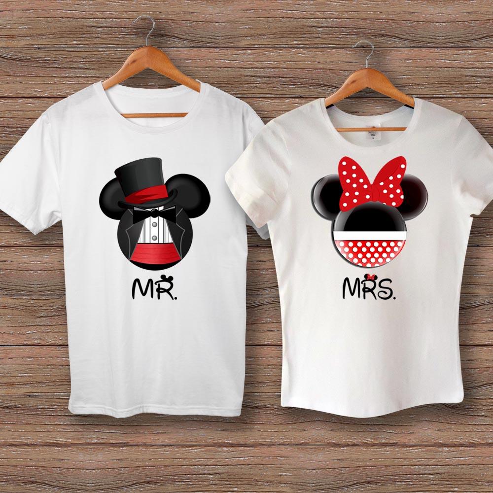 Тениски Mr Mickey - Mrs Minnie
