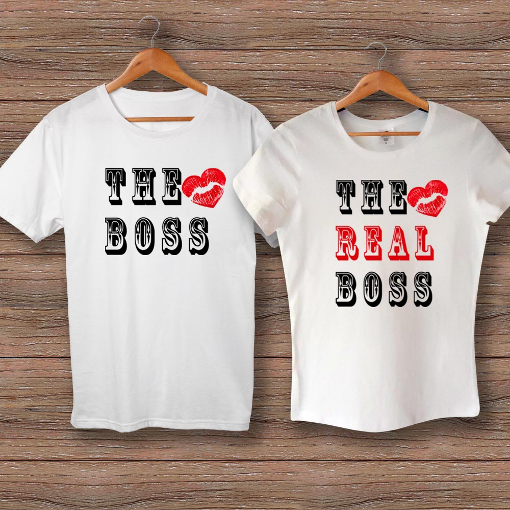 Тениски Boss and Real Boss