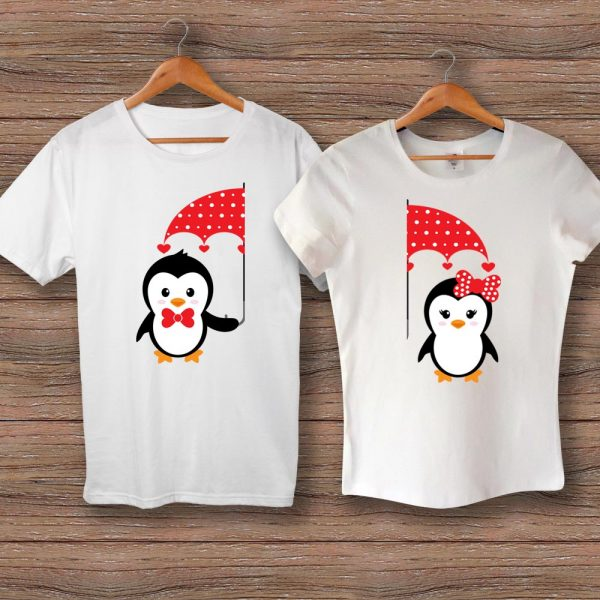 Тениски Пингвинчета с Чадър