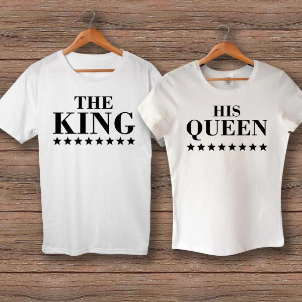 Тениски THE KING и HIS QUEEN