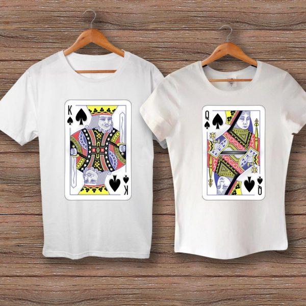 Тениски карти KING и QUEEN