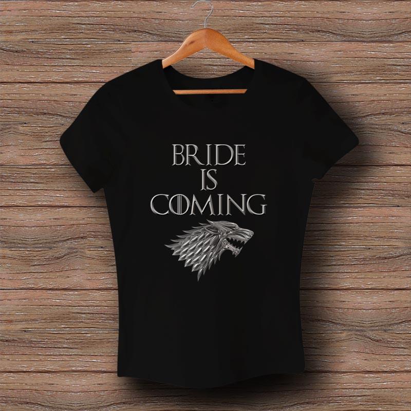 Тениска Bride is Coming