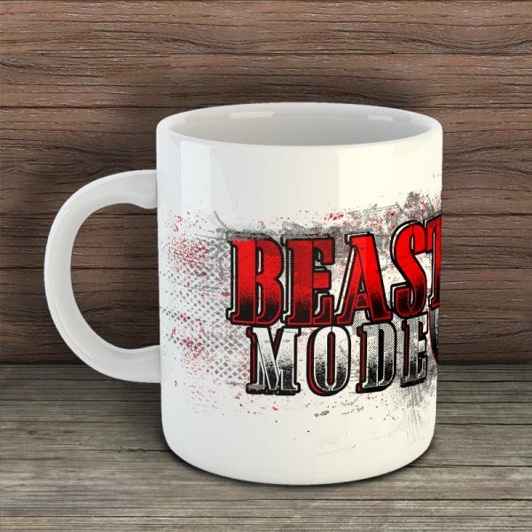Фитнес чаша - Beast Mode