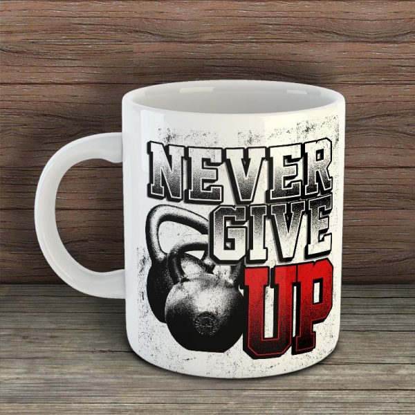 Фитнес чаша - Never Give Up