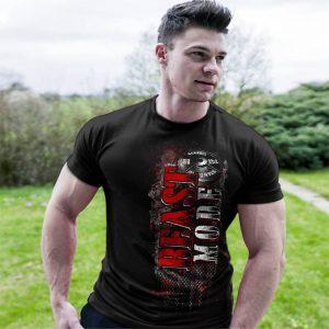 Фитнес тениска BEAST MODE