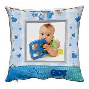 Възглавничка за новородено момченце