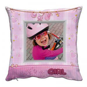 Възглавничка за новородено момиченце