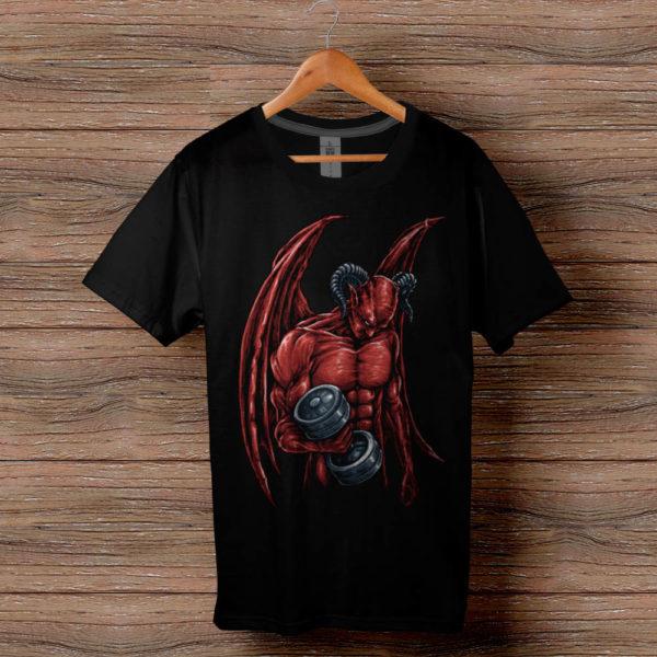 Фитнес тениска Devil Fitness