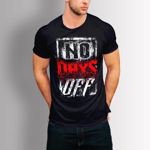 Фитнес тениска No Days Off 2