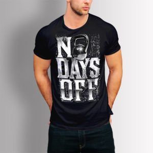 Фитнес тениска No Days Off