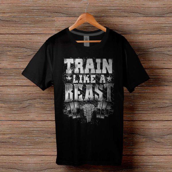 Фитнес тениска Train Like A Beast