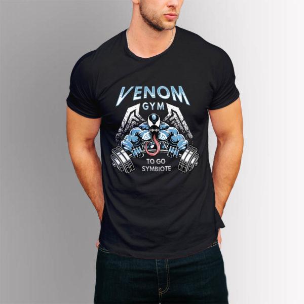 Фитнес тениска Venom Gym