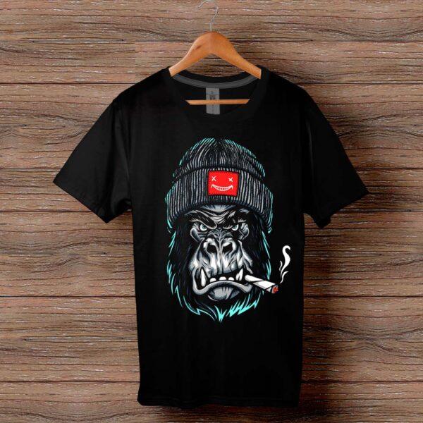 Тениска с щампа Горила