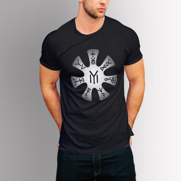 Тениска с щампа Розетата от Плиска
