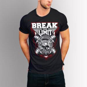 Фитнес тениска Break Your Limit
