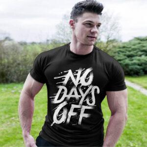 Фитнес тениска No Days Off 3