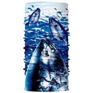 Бандана за глава Синя с рибки