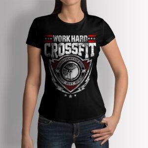 Фитнес тениска Crossfit - Дамска