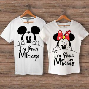 Тениски I'm Your Mickey - I'm Your Minnie