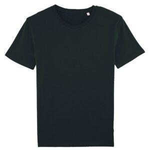 Тениска със снимка - Органичен памук - Черна