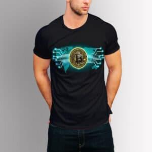 Крипто тениска - Bitcoin network