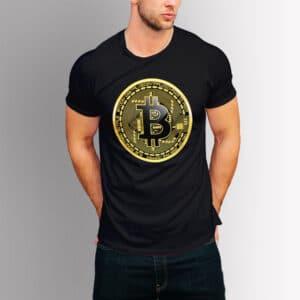 Крипто тениска - Bitcoin