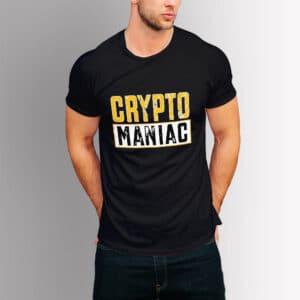 Крипто тениска - Crypto Maniac