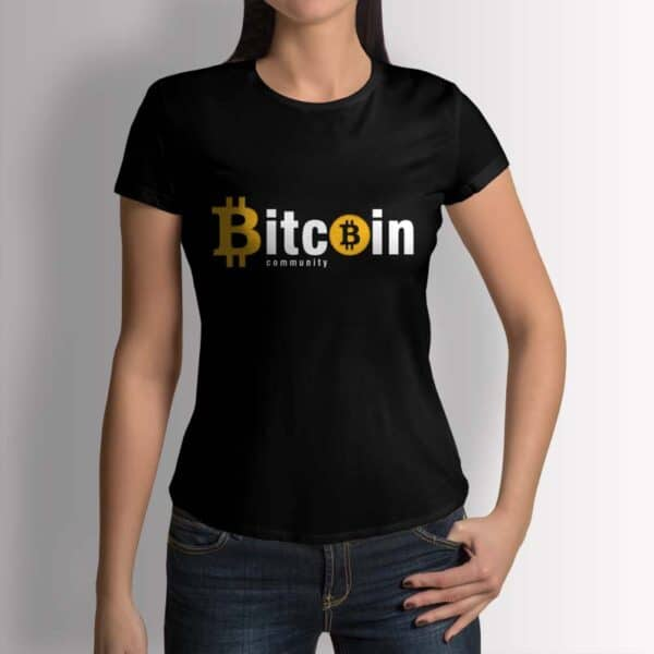 Bitcoin Community - Крипто тениска