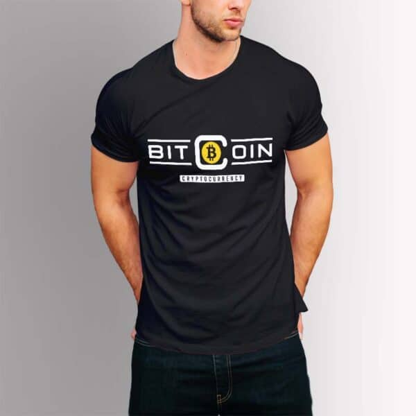 Bitcoin Cryptocurrency - Крипто тениска