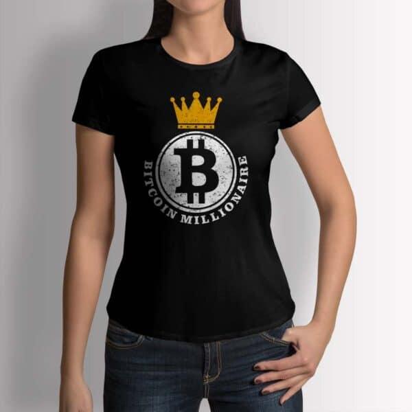 Bitcoin Millionaire - Крипто тениска