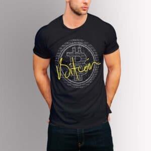 Bitcoin - Крипто тениска с надписи 03