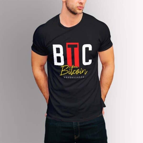 Bitcoin Unstoppable - Крипто тениска