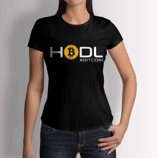 Hodl Bitcoin - Крипто тениска
