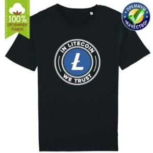 In Litecoin We Trust - Крипто тениска