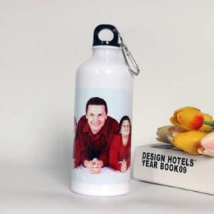 Туристическа бутилка със снимка